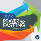 Prayer Meeting Schedules: 2013 Prayer and Fasting