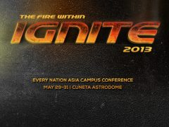 Warming up for Ignite 2013!