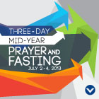 2013 Mid-year Prayer and Fasting