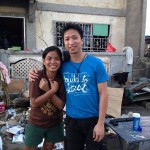 Nessa Gardiola (left) is one of the Victory Tacloban discipleship group leaders who were accounted for after typhoon Yolanda. Photo by Kix Javier.