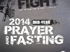 2014 Mid-year Prayer and Fasting Prayer Meeting Schedules
