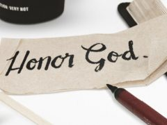 New Series: Honor God