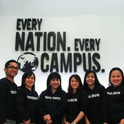 JM (second from left) is ready to reach every nation and every campus!