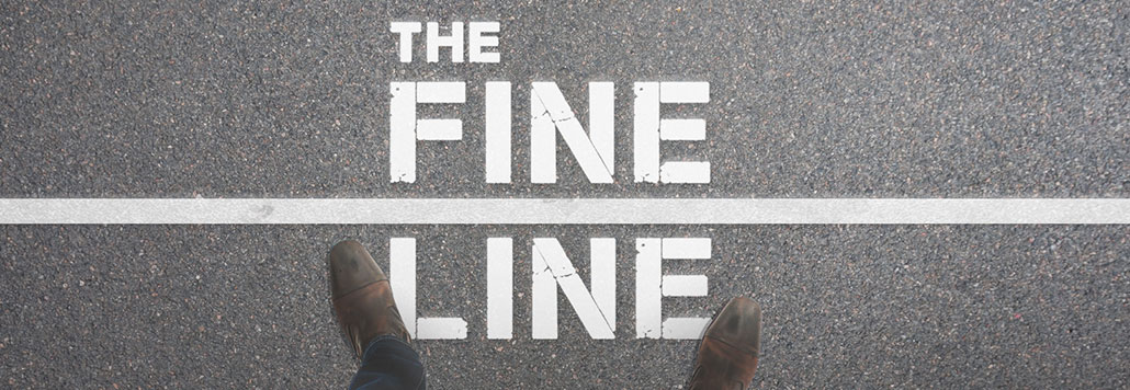New Series: The Fine Line