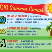 Youth Summer Camps For 2016