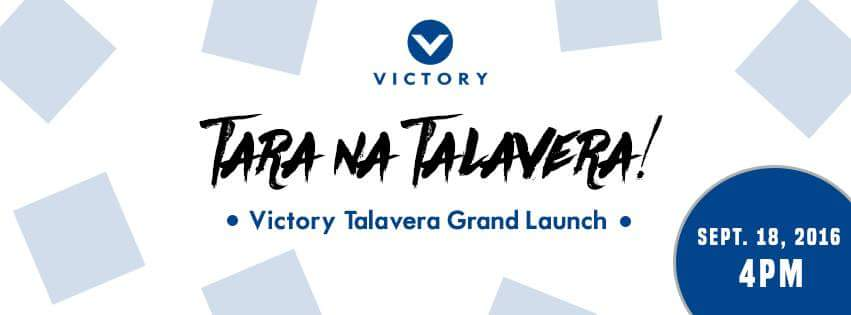 Victory Talavera to Launch on Sept 18!