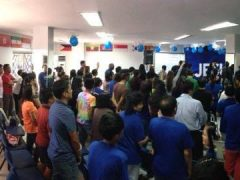 Victory Apalit Kicks Off First Worship Service