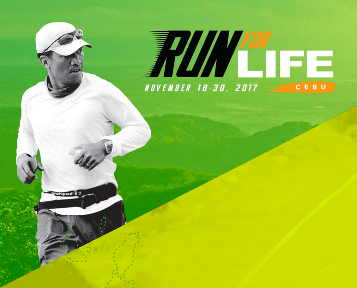 Change a life, change the nation at Run for LIFE Cebu