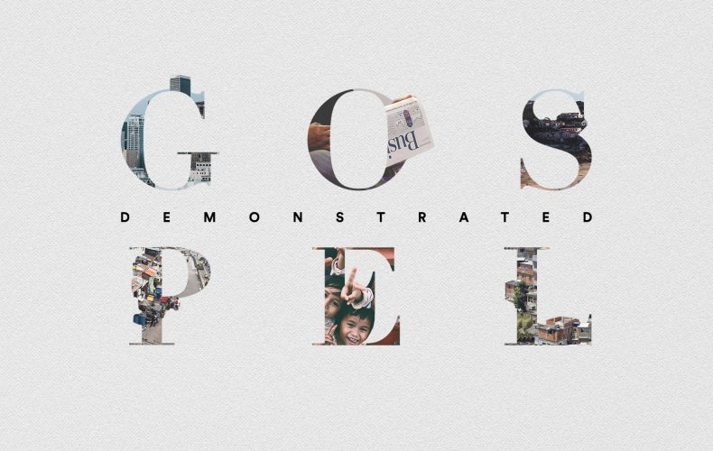 New Series: Gospel Demonstrated
