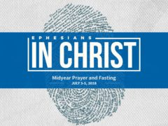 Let's pray and fast together from July 3 to 5!