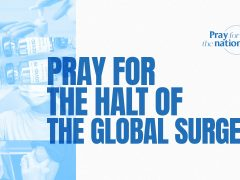 Pray for the Halt of the Global Surge